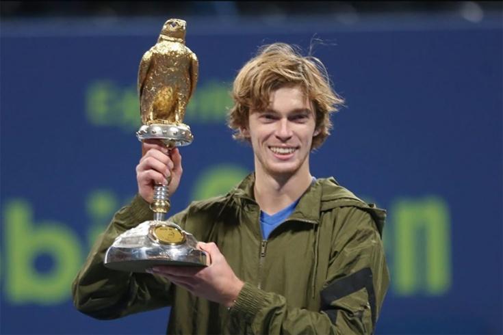 Андрей Рублёв стал чемпионом турнира в Дохе