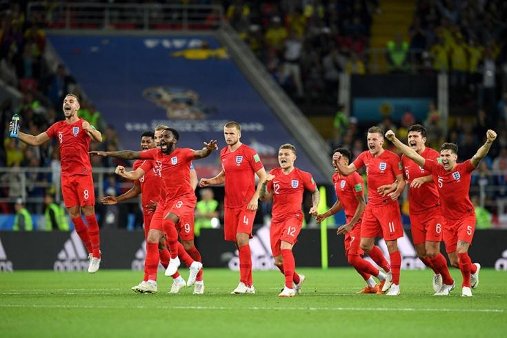 Колумбия — Англия — 1:1, пенальти 3:4