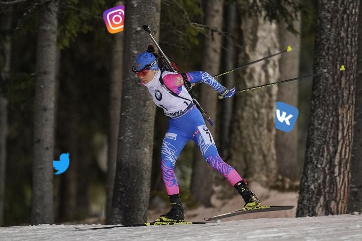 Российских биатлонисток берегут от соцсетей