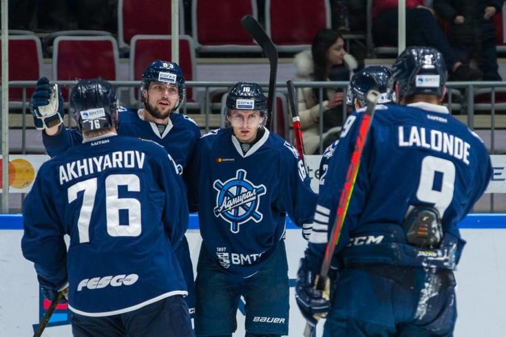 «Адмирал» не будет выступать в КХЛ в новом сезоне