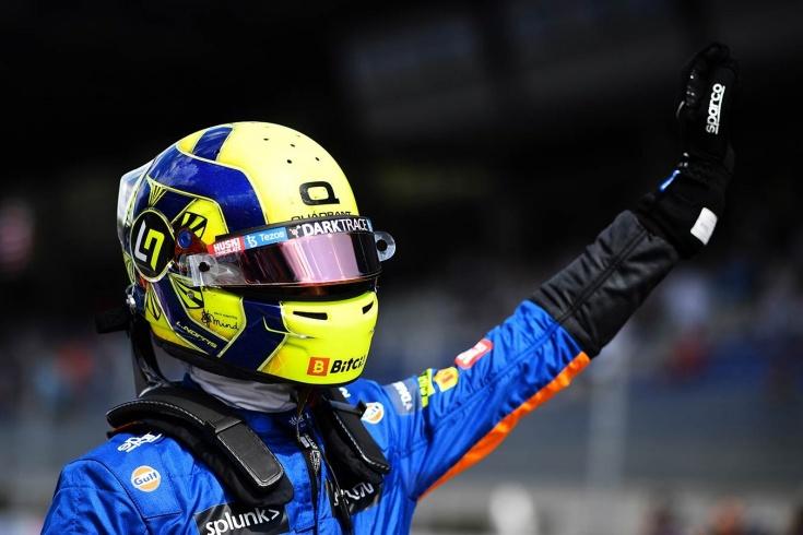 Ферстаппен на поуле Гран-при Австрии, Норрис — 2-й, Перес — 3-й, Хэмилтон — 4-й, Боттас — 5-й, Мазепин — 20-й