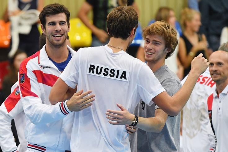 Хачанов, Рублёв и Медведев будут против Надаля