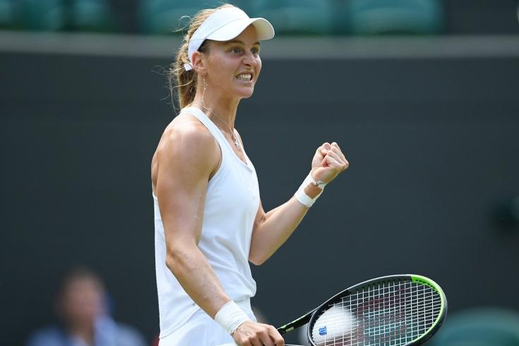 Уимблдон-2021: дебютантка турнира Людмила Самсонова победила трёх соперниц, в том числе чемпионку US Open Слоан Стивенс