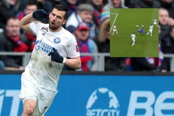 Деспотович забил невероятный гол через себя