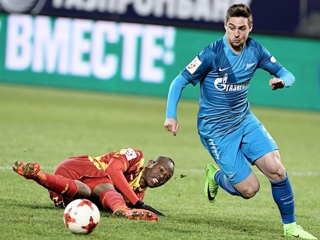 РФПЛ. 20-й тур. «Зенит» – «Арсенал» – 2:0