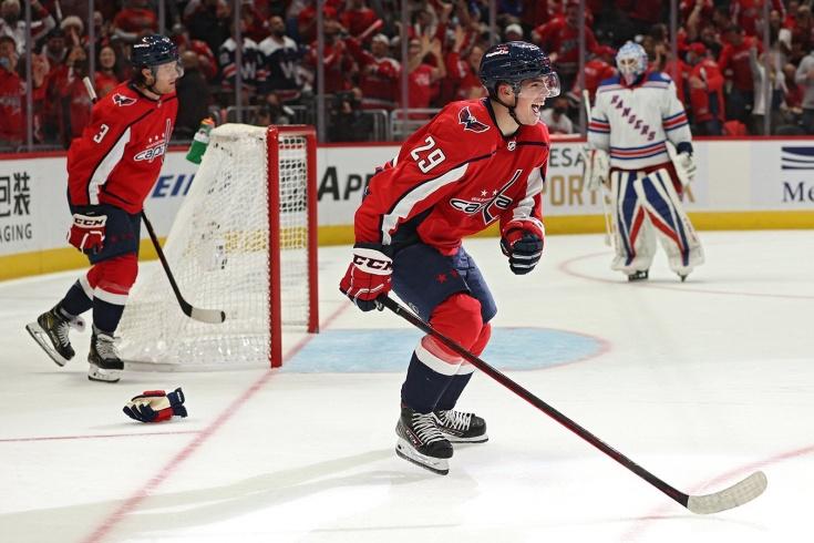 Убежал от Панарина как от «пенсионера»! Молодой фанат Овечкина мощно ворвался в НХЛ