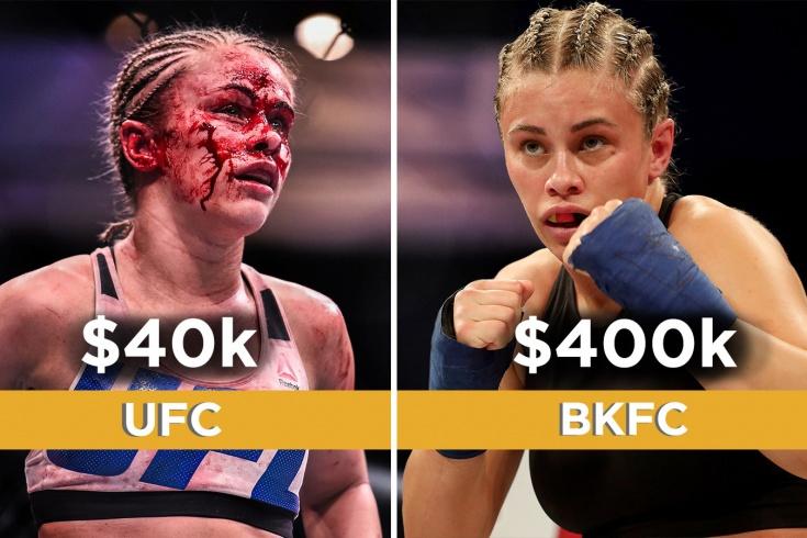 Пейдж Ванзант ушла из UFC в бои на голых кулаках и получает 400 тысяч долларов за поединок