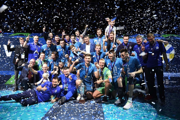 Скандал на церемонии награждения волейбольного Кубка ЕКВ – драка охранников с фанатом «Динамо», видео