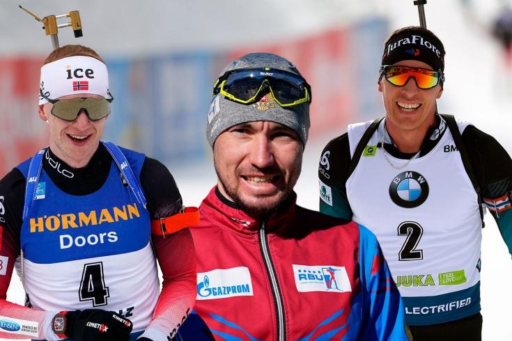 Кто главный конкурент биатлониста Логинова в борьбе победу на Кубке мира-2020/21
