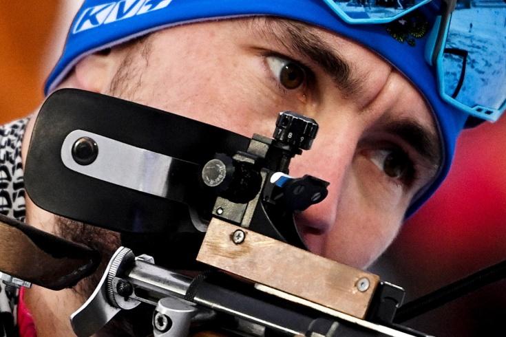 Яркие эмоции биатлонистов сборной России после победы в эстафете на этапе Кубке мира в Оберхофе