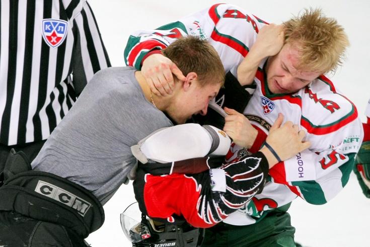 «Авангард» – «Ак Барс» – 1:11, четвертьфинал плей-офф КХЛ сезона-2008/2009, видео и цитаты