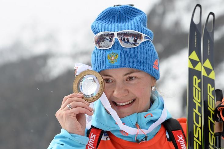 Историческая победа биатлонистки Екатерины Юрловой на чемпионате мира 2015 – как это было