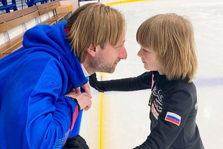 Сын Плющенко и Рудковской