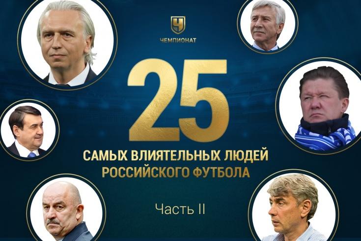 Самые влиятельные люди российского футбола