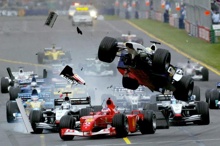 Тест: назовите все команды Формулы-1 за 20 лет