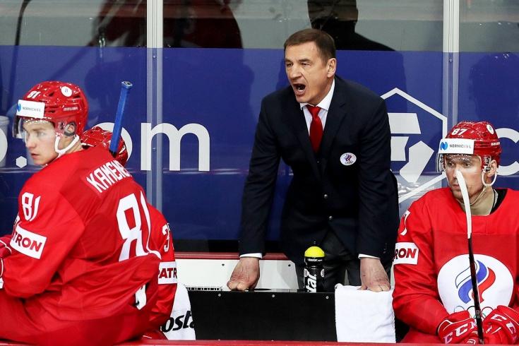 Россия — Чехия – 4:3 – что говорил главный тренер россиян Валерий Брагин после матча