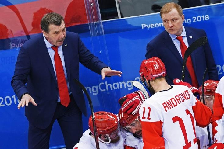 Олег Знарок и сборная России