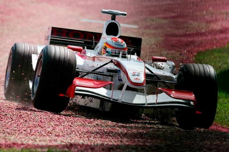 Юдзи Идэ в Формуле-1