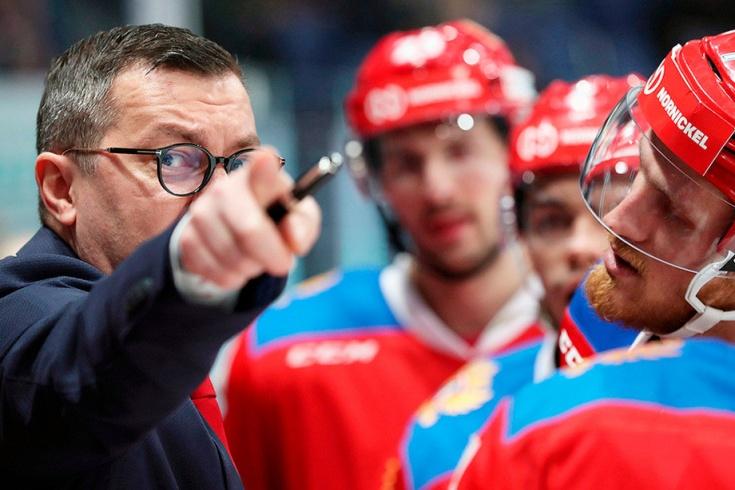 Илья Воробьёв, сборная России — Хоккей
