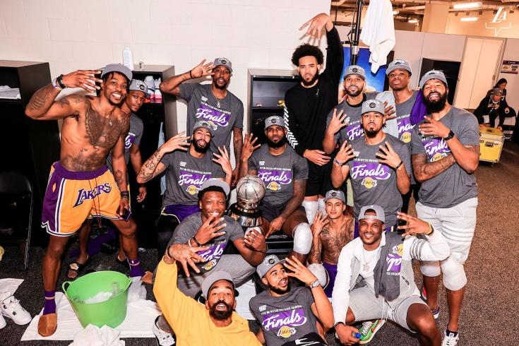 Леброн вернул «Лейкерс» в финал НБА спустя 10 лет. Кто-то сомневался, что будет иначе?