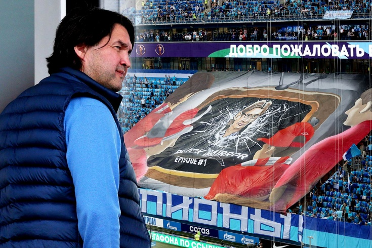 Gazizov's powerful response to Zenit for the banner with Fedun