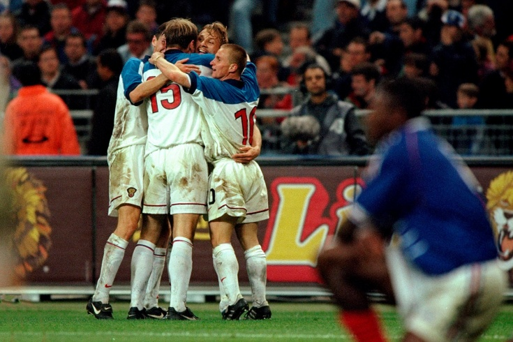 Как Карпин забивал французам в 1999-м