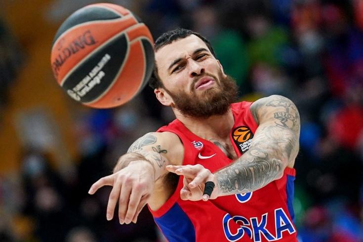 Майк Джеймс сослан в молодёжную команду ЦСКА
