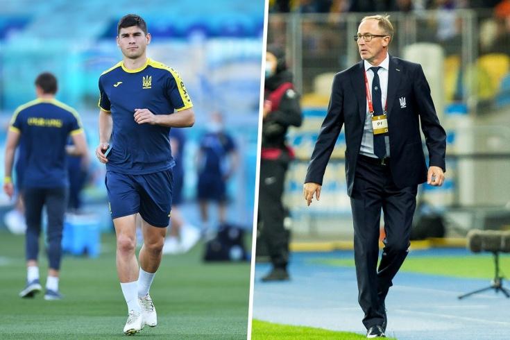 «Он обижается, я попросил прощения». Чем провинился тренер Украины перед Малиновским?