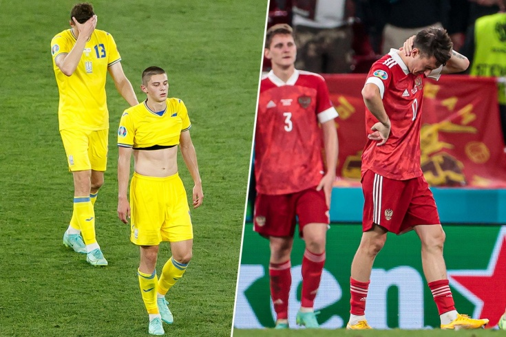 Украина — Англия — 0:4
