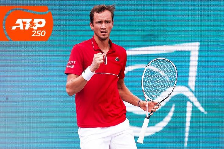 Турнир ATP-250 на Мальорке: Даниил Медведев победил Пабло Карреньо-Бусту и вышел в финал, самые яркие видеофрагменты