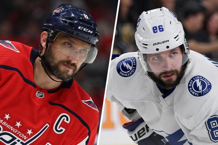 Пары плей-офф НХЛ прямо сейчас. Какие соперники ждут Кучерова, Овечкина и Свечникова?