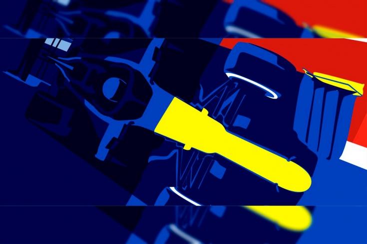 К Гран-при России в «Рено» нарисовали постер в жёлто-синих цветах. Совпадение?
