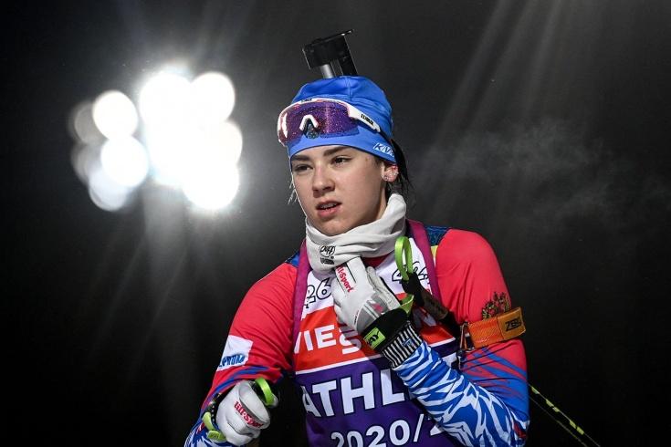 Чемпионат мира по летнему биатлону — 2021: россиянка Анастасия Гореева выиграла золото в первой же гонке турнира