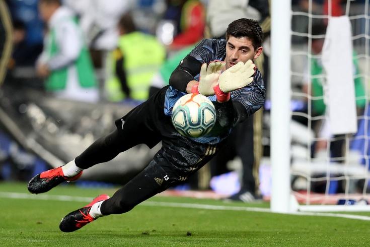 Куртуа: игра была сложной для «Реала» из-за гола С