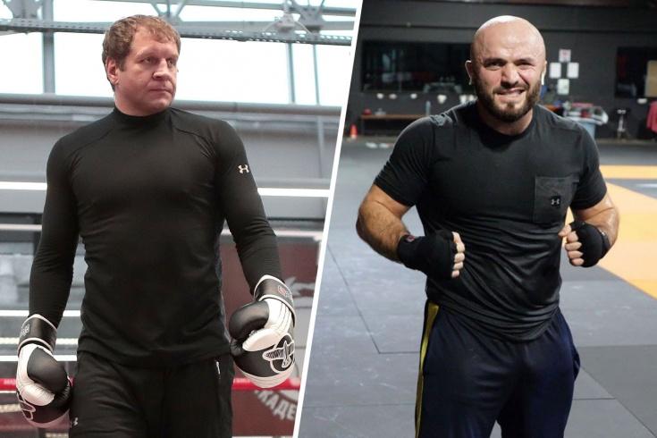 Магомед Исмаилов и Александр Емельяненко