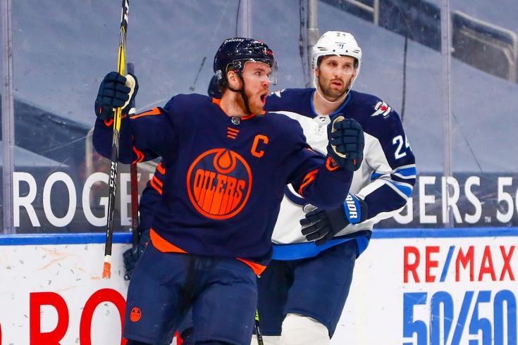 «Эдмонтон» — «Виннипег» — 2:1, видео, голы, обзор матча чемпионата НХЛ – 2021