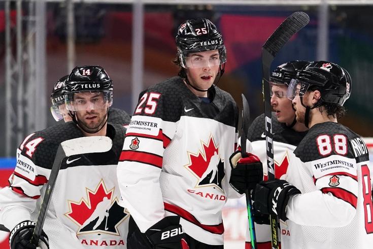 Казахстан — Канада — 2:3 — видео, голы, обзор матча чемпионата мира по хоккею — 2021