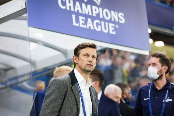 «Челси» – «Зенит» – 1:0, что сказал Сергей Семак