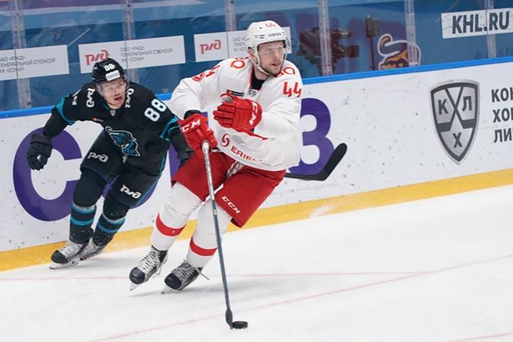 В КХЛ обновили рекорд скорострельности, «Спартак» и «Сочи» забили 5 голов за 161 секунду