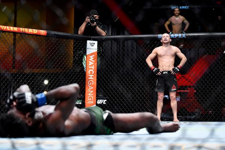 UFC 259: Пётр Ян нокаутировал Алджэмейна Стерлинга