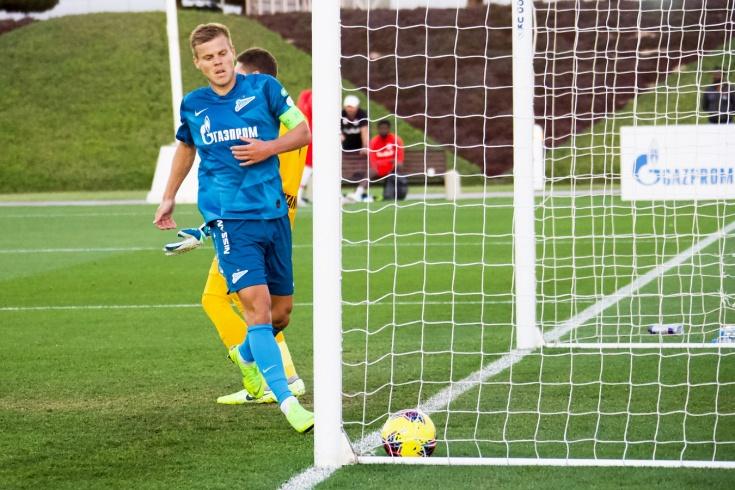 Александр Кокорин сделал дубль в матче «Зенита-2»