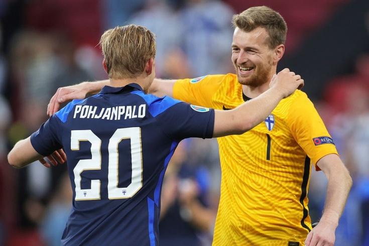 Дания — Финляндия — 0:1