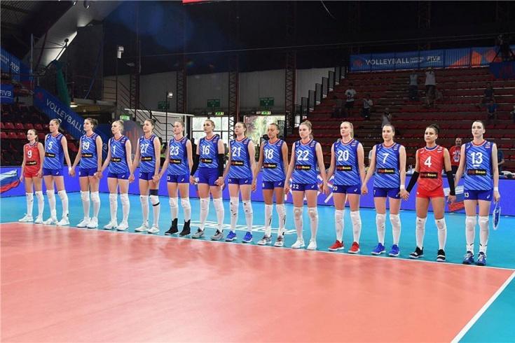 Италия — Россия — 3:1, волейбол, Лига наций
