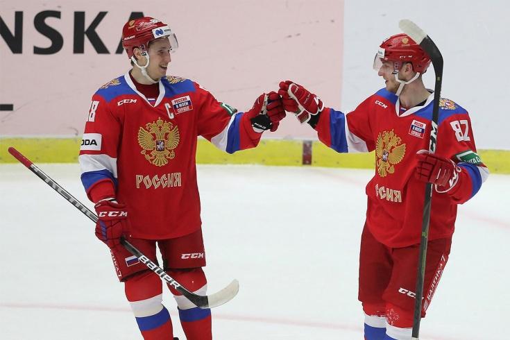 Россия – Чехия. Онлайн матча Евротура. Наши идут за девятой победой подряд!