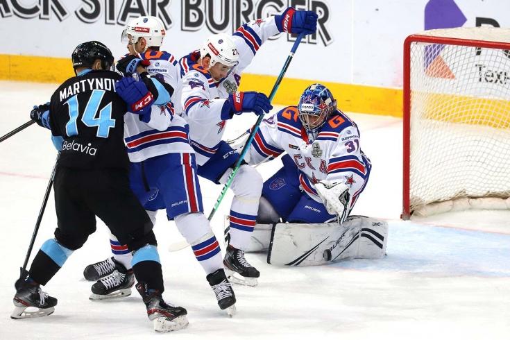 Минск сотворил сенсацию, размочив серию со СКА! Что творится в плей-офф КХЛ