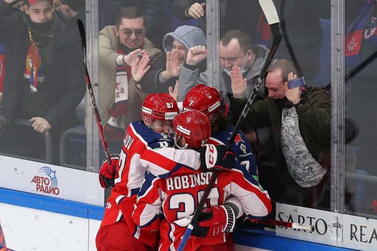 ЦСКА решил матч за 54 секунды! СКА сломался после курьёзного гола Телегина