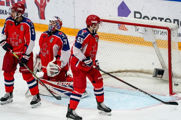 ЦСКА провёл худший матч в плей-офф — виноват перерыв или «Авангард»? Что происходит в КХЛ