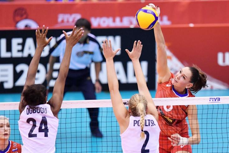 Россия уступила США со счётом 2:3, Кубок мира