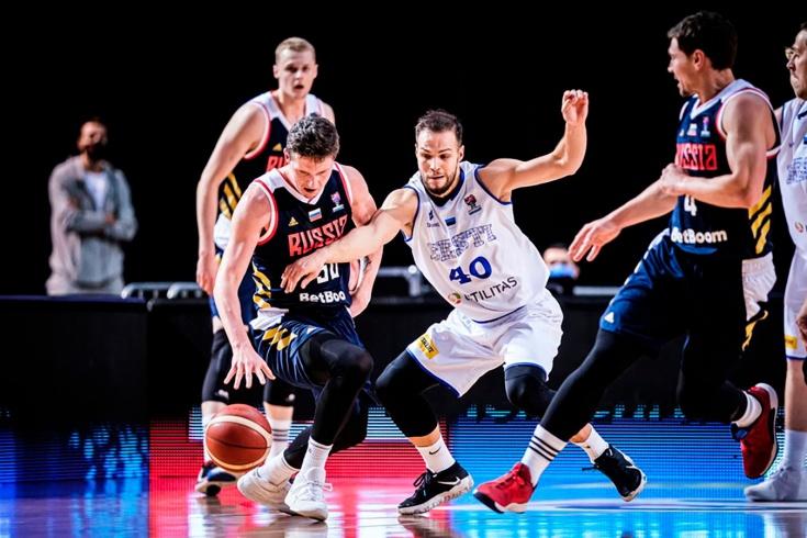 Россия – Эстония, обзор матча квалификации Евробаскета
