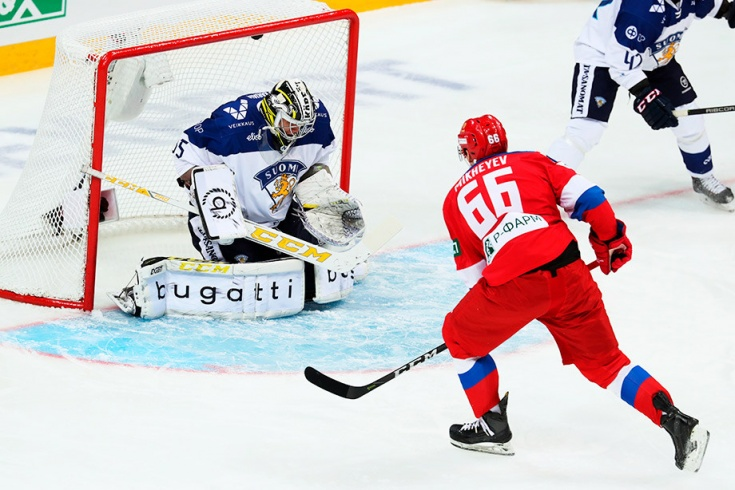 Россия – Финляндия – 3:2 Б